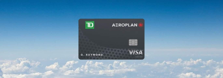 Une carte de crédit VISA Infinite offerte par TD